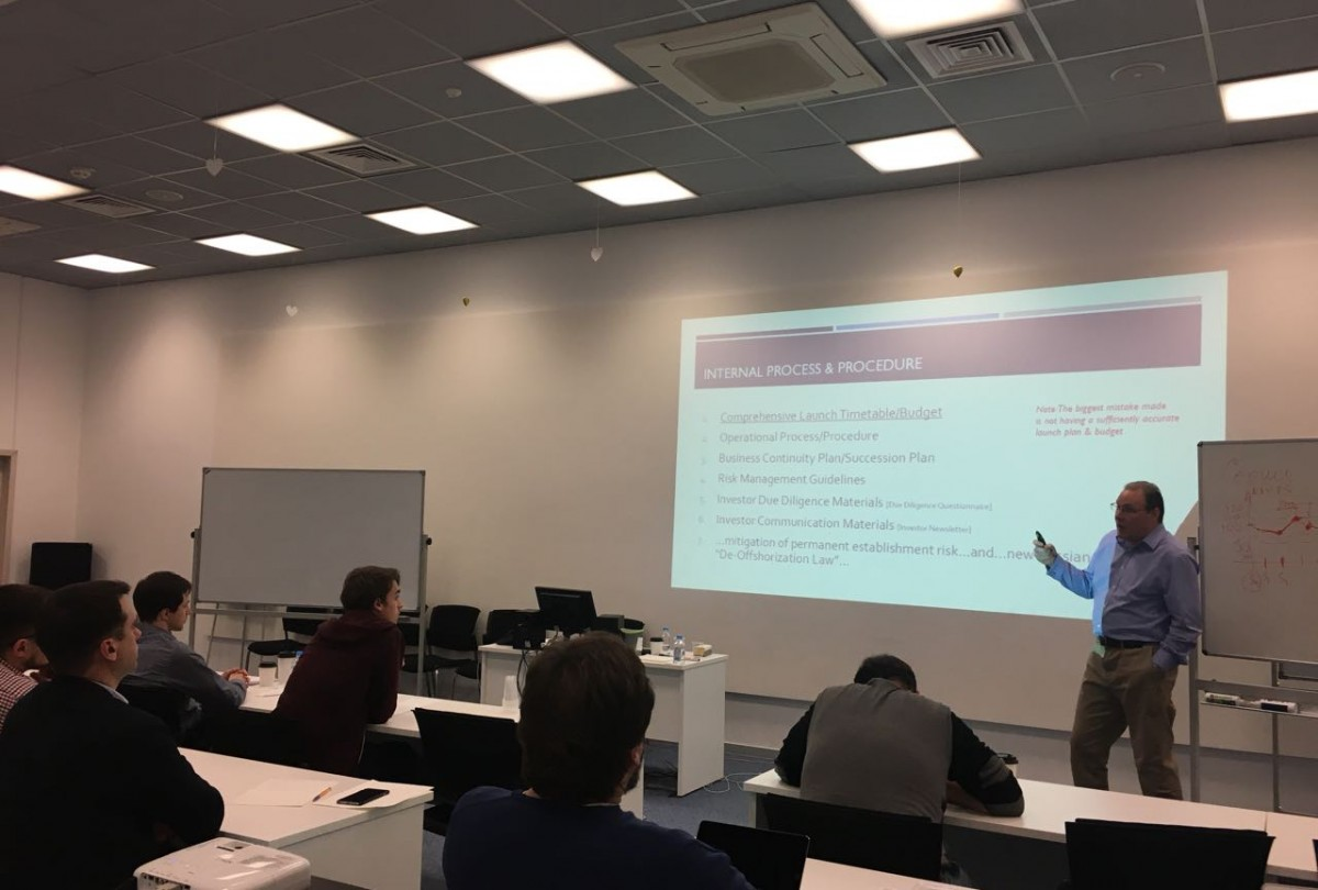 HEDGE FUND FUNDAMENTALS COURSE TOOK PLACE IN MOSCOW