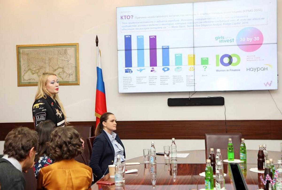 27 февраля состоялась очередная встреча конвента «Женщины и финансы»