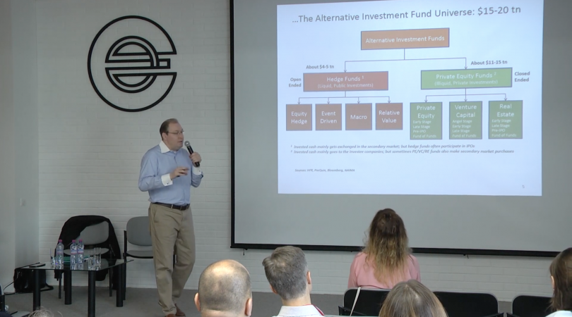 """""""Alternative investments and the possibility of creating a fund abroad"""" seminar"""
