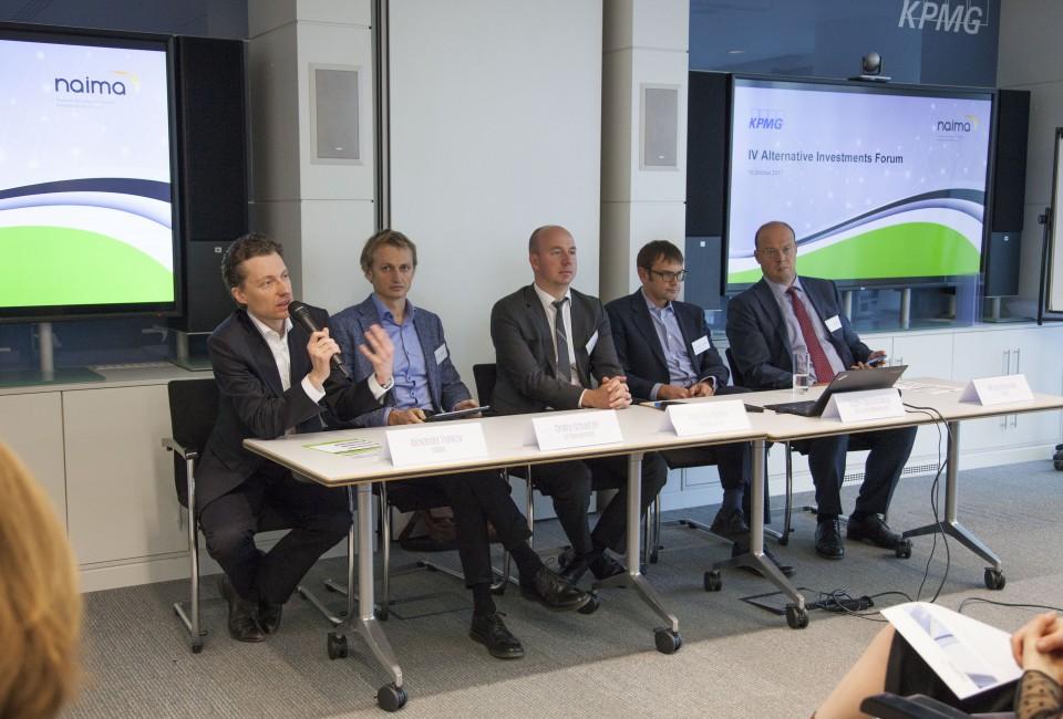 19 октября 2017 года прошел IV ежегодный Форум альтернативных инвестиций, организованный Национальной ассоциацией участников рынка альтернативных инвестиций и КПМГ.