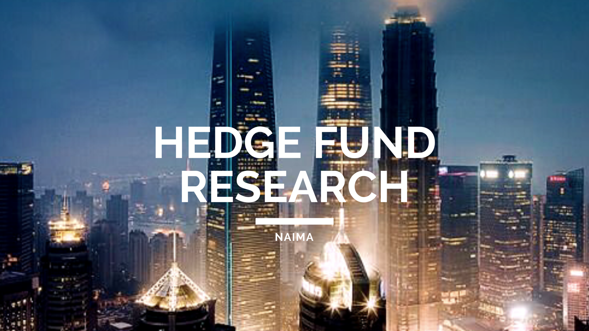Hedge Fund Research