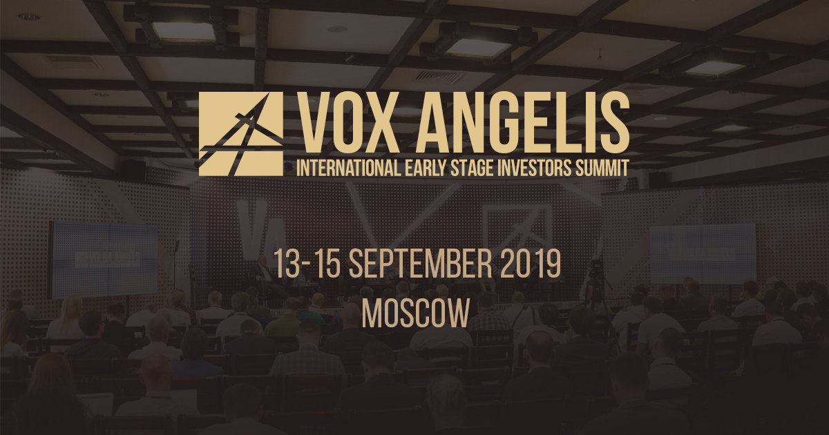 The International Early Stage Investors Summit VOX ANGELIS 2019